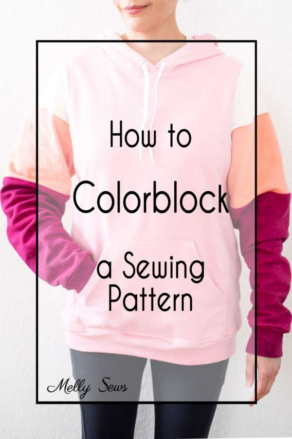 Adding Colorblocking to a Sewing Project
