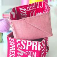 Easy Fabric Baskets - Sewing Tutorial