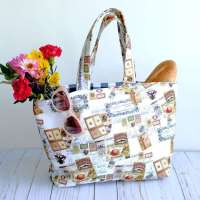 Reversible Tote Bag - Easy Sewing Tutorial