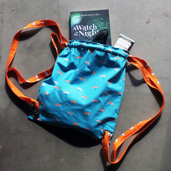 Easy Drawstring Backpack Sewing Tutorial