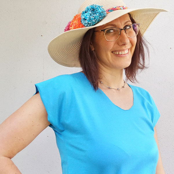 Sew a Cap Sleeve T-Shirt with Just 2 Easy Seams