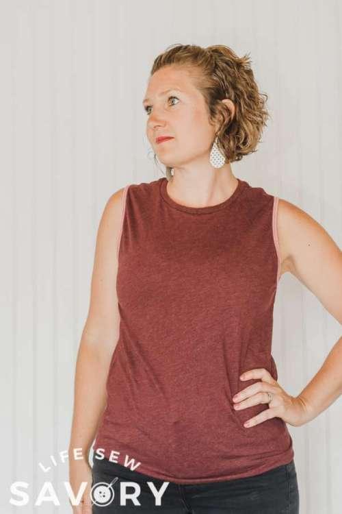 Women's Boxy Tank Top - Free Sewing Pattern