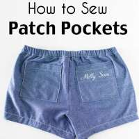How to Add Patch Pockets to Any Sewing Project