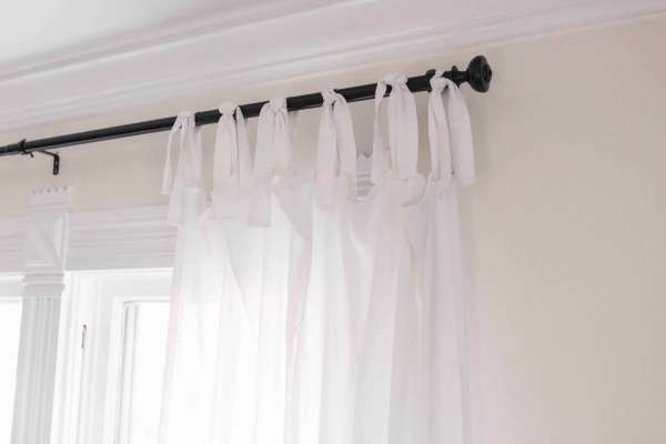 Sew Your Own Tie Top Curtains - DIY Tutorial