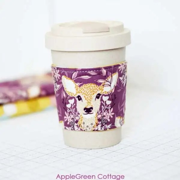 Coffee Cozy Free Sewing Pattern