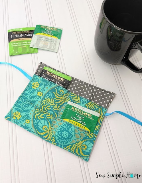 Easy Tea Wallet Free Sewing Pattern