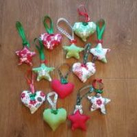 How to Sew Your Own Beautiful Christmas Ornaments