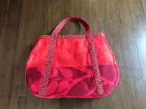 Red Tear Drop Tote