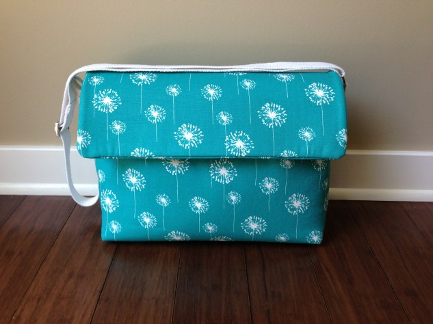 Teal Small Tote