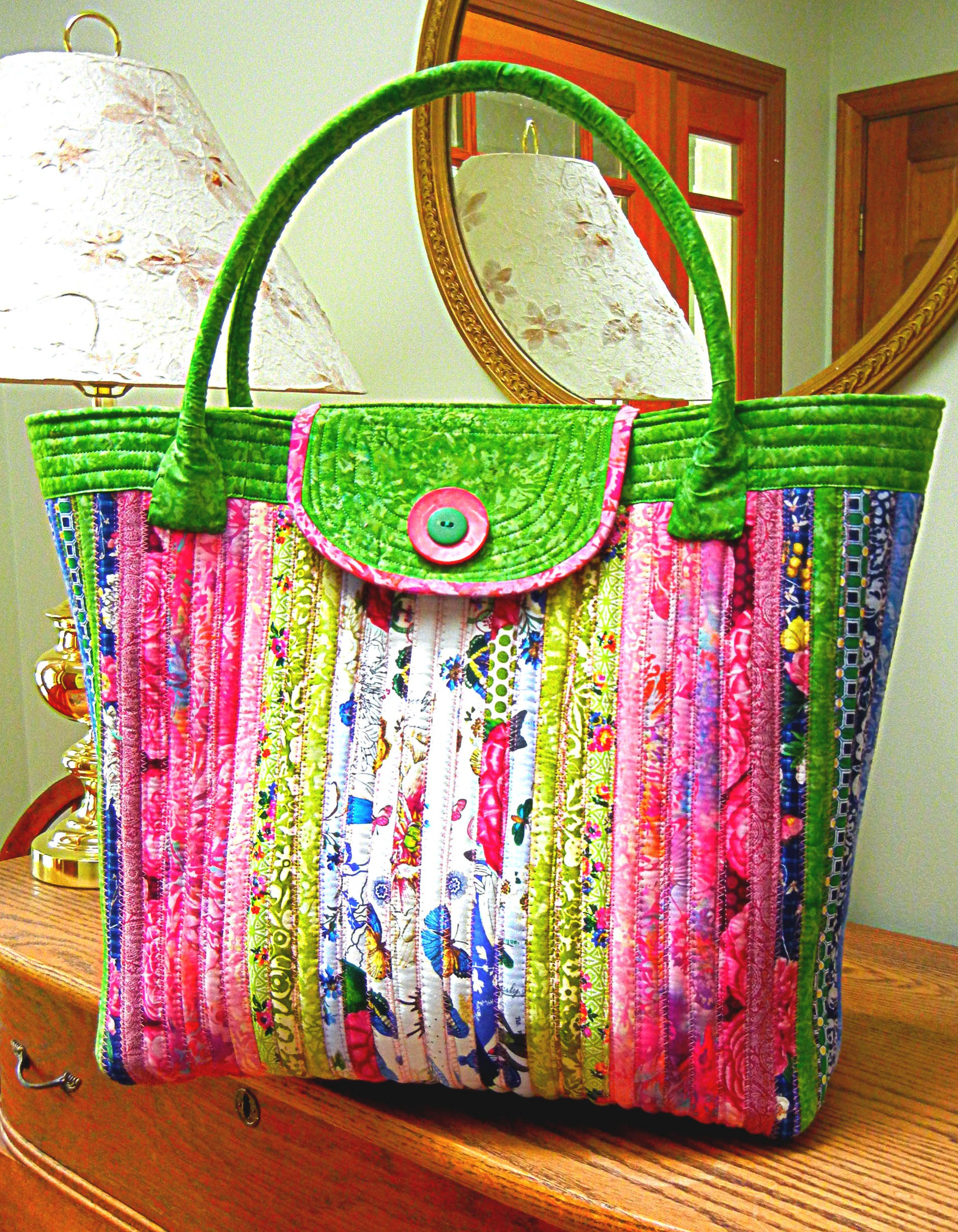 Anything Goes Bag by Aunties Two Patterns  Jelly Roll