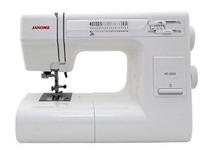 Janome HD3000 Heavy Duty Sewing Machine Review