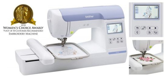 Brother PE800 Embroidery Only Machine Review