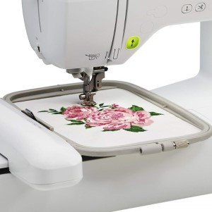 Brother PE800 Embroidery Machine Review - detail