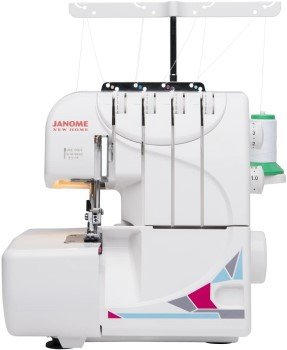 Janome MOD-8933 Serger Machine Review