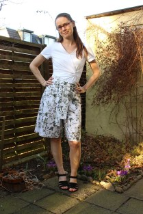 Simplicity 1849 & Itch to Stich Emily Culottes