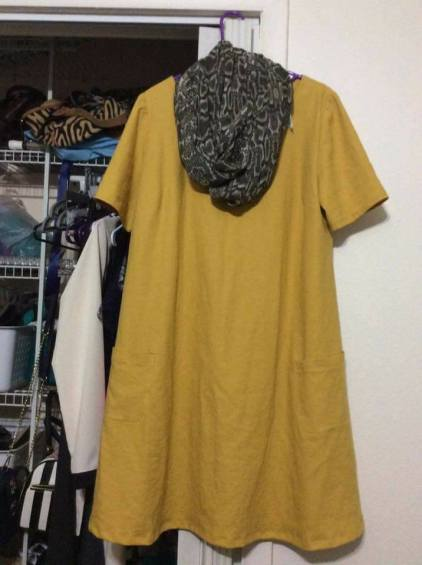 Simplicity sheath dress in linen