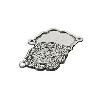 METAL TAGS snirklig silver
