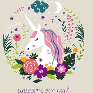 Vinyltryck Unicorns are real