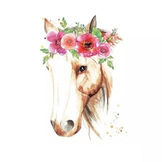 Vinyltryck Häst 23x17