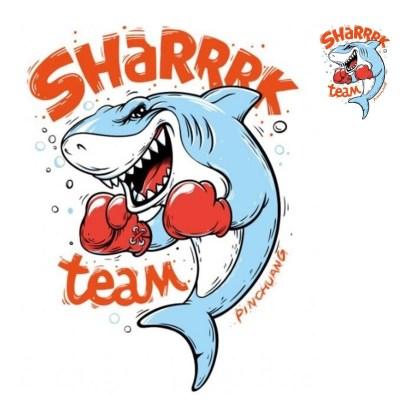 Vinyltryck set Shark team