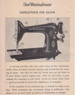 Free Sewing Machine : sewing, machine, Dating, Westinghouse, Sewing, Machine, (Value,, History)