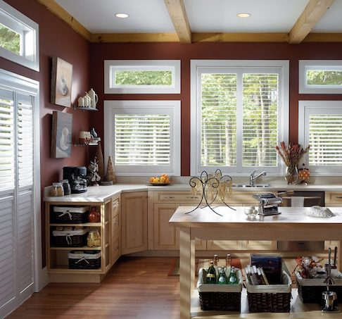 Custom Kitchen Window Blinds