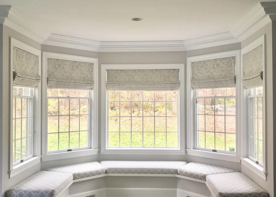 Window Seat Window Treatment from The Sewing Loft of Avon