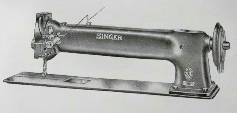 Singer 139w101:超特長腕ミシン