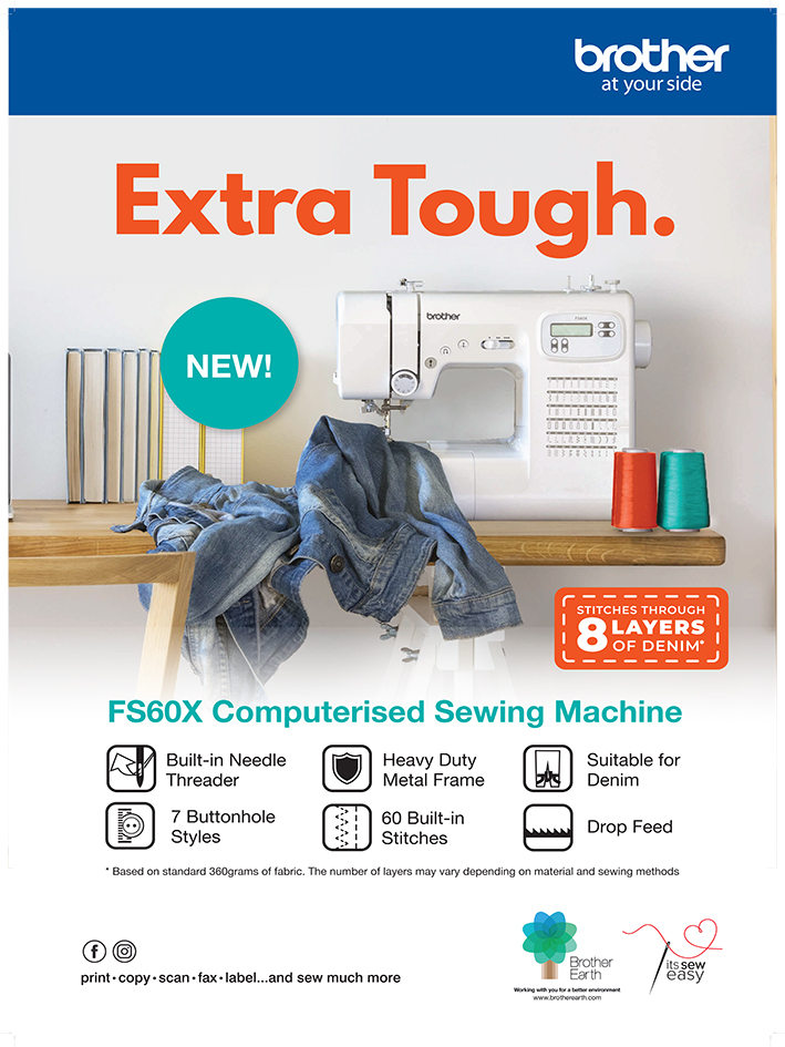 Brother A1 Posters - Sewing Machines - FS60X