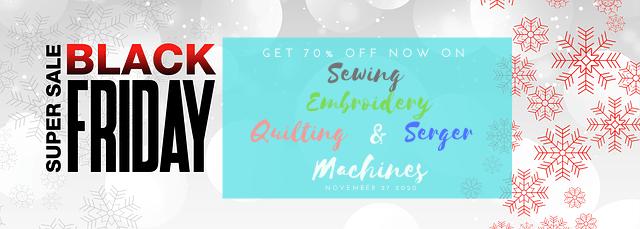 Sewing Machine Deals Black Friday 2020