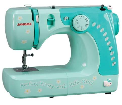 Janome 11706 3/4 Size Hello Kitty Sewing Machine
