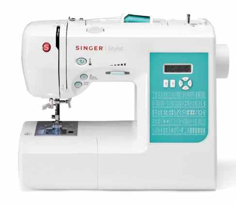 SINGER 7258 Stylist Award-Winning 100-Stitch Computerized Sewing Machine