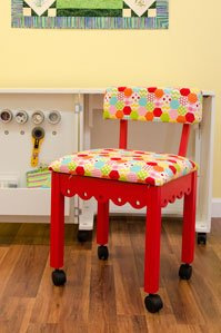 Arrow Riley Blake Hexi-Print Sewing Chair