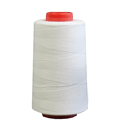 Foamily 6000 Yards White Sewing Thread