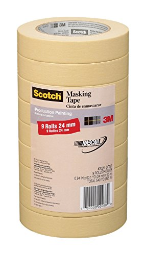 3M Scotch General Purpose Masking Tape 2020-24A-CP