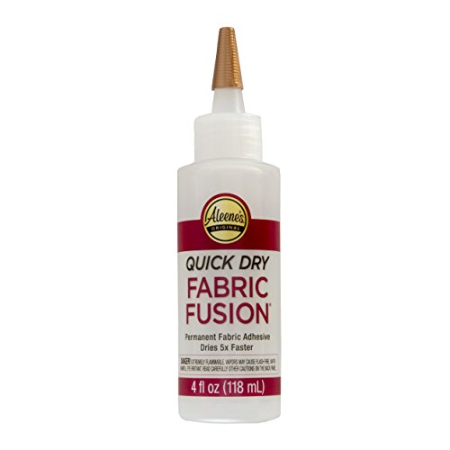 Aleene's Quick Dry Fabric Fusion Permanent Adhesive