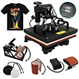 F2C 5 in 1 Professional Digital Transfer Heat Press Machine