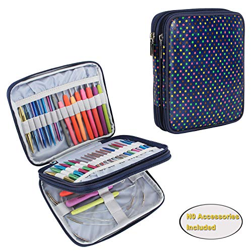 Teamoy Organizer Case for Interchangeable Circular Knitting Needles