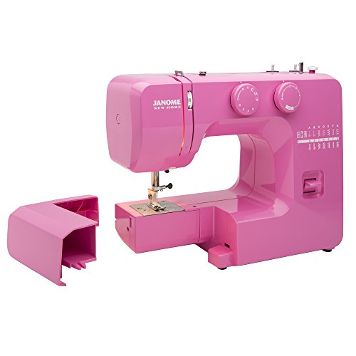 Janome Pink Sorbet Easy-To-Use Sewing Machine