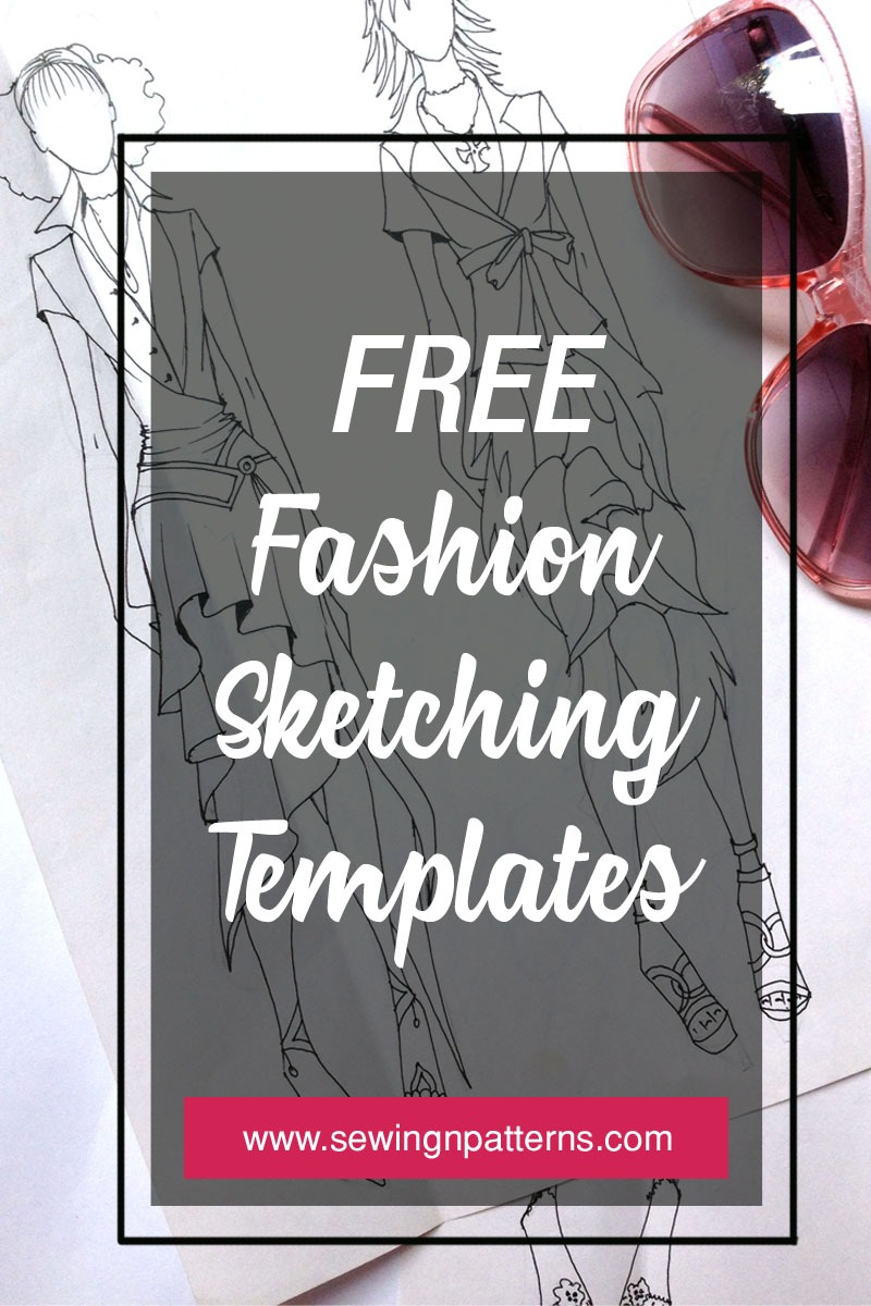 Fashion figure templates: The ultimate list for your next fashion ...
