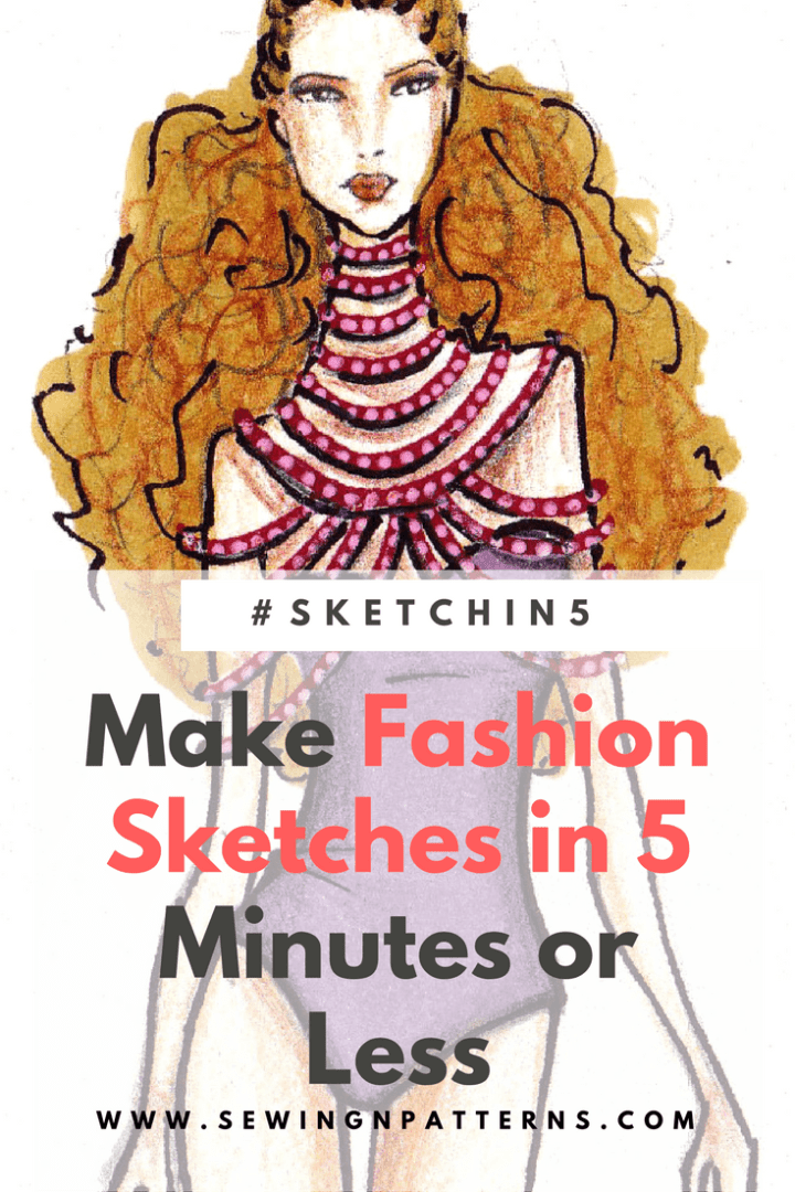 Click here to learn 5 minute fashion sketches and Grab you free fashion templates. Fashion design I how to draw fashion sketces I fashion illustration step by step I Fashion sketchbook I #sketchin5