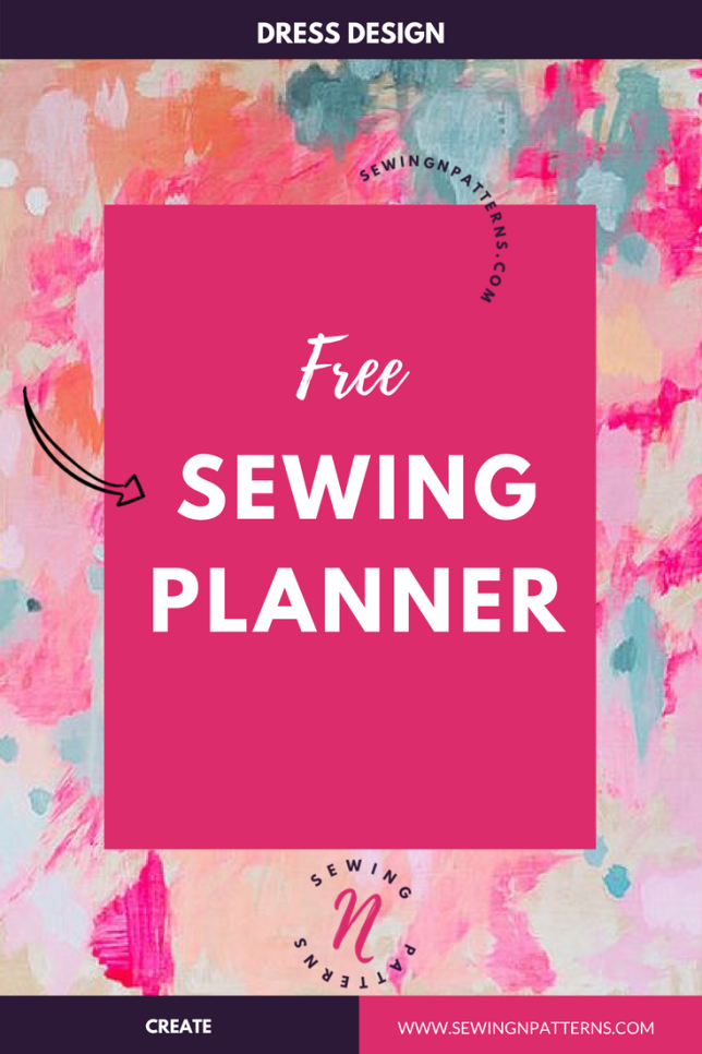 Grab your free printable sewing planner that helps you in every step of your sewing projects especially for sewing beginners. Also I made a video walkthrough tutorial on step by step process of how to use it. Designed to use for your next sewing clothing projects. This will be a great addition to your sewing kit which you can use again and again.
