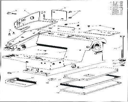 Pfaff Industrial Sewing Machine Parts Books