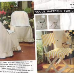 Summer High Chair Cover Wedding Covers Wholesale Uk Vogue Pattern 1156 Patio Home Dec