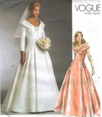 Vogue Wedding Dress Patterns