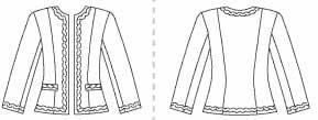 Classic wardrobe for work, winter 2010 : waistcoat, blazer