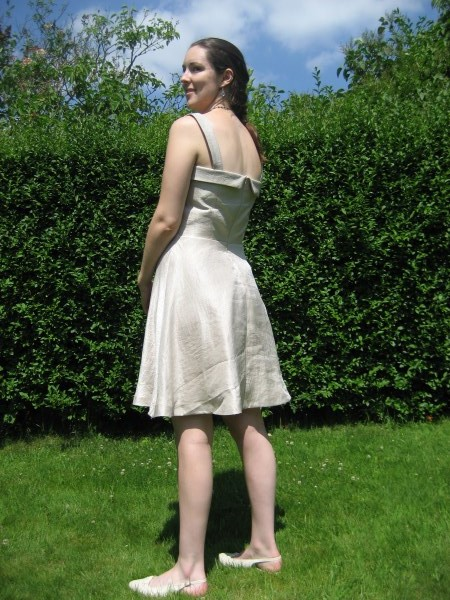 FO Colette Lily with HalfCircle Skirt  Sewing Slowly