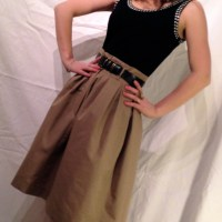 DONE!! The PR contest skirt = Preen + Theory + Me
