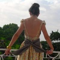 Burda Open Back Dress 03/2013