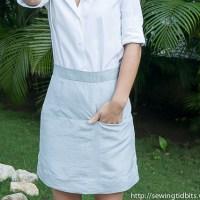 #PRSewingBee - A-line Skirt - Vogue 1247